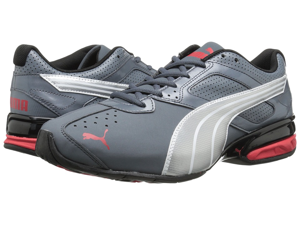 PUMA - Tazon 5 NM (Turbulence/Puma Silver/Red) Men's Running Shoes