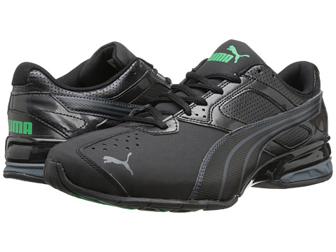 PUMA - Tazon 5 NM (Black/Turbulence/Bright Green) Men's Running Shoes