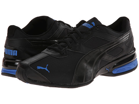 PUMA - Tazon 5 Ripstop (Black/Strong Blue) Men