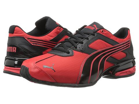 PUMA - Tazon 5 Ripstop (Red/Black) Men
