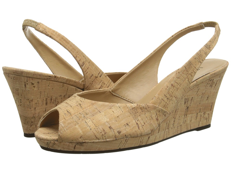 Vaneli - Bruna (Natural Cork) Women's Sandals