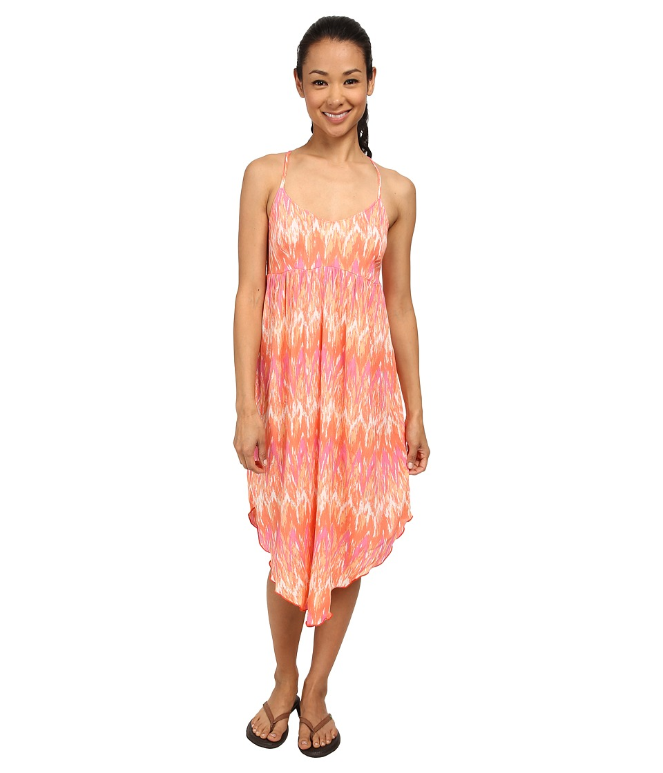 Columbia Light Waves Dress (Coral Flame) Women