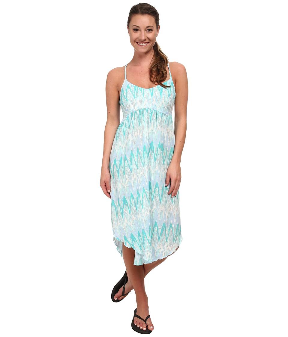 Columbia Light Waves Dress (Candy Mint Print) Women
