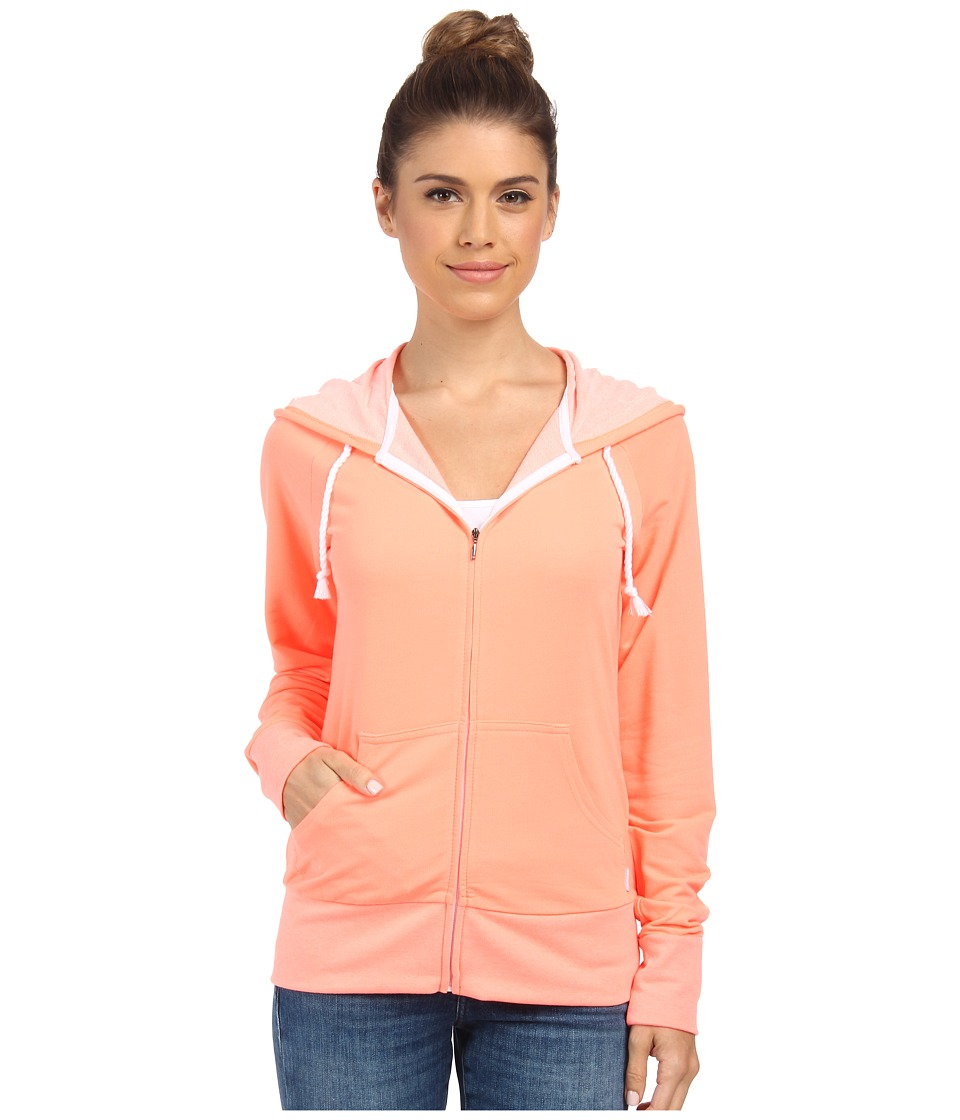Columbia - Easy Days Hoodie (Coral Glow) Women's Sweatshirt