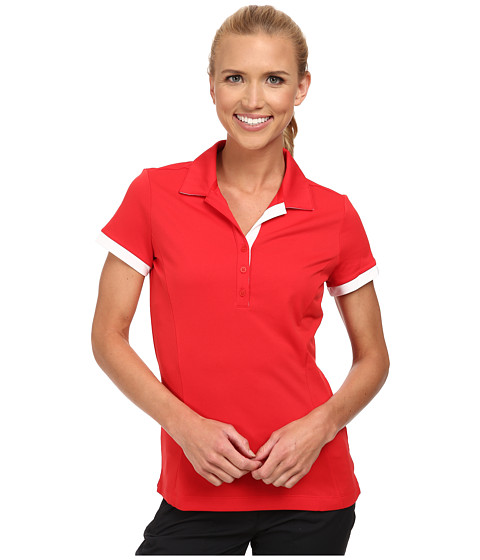 Nike Golf - Victory Block Polo (University Red/University Red/White) Women's Short Sleeve Knit