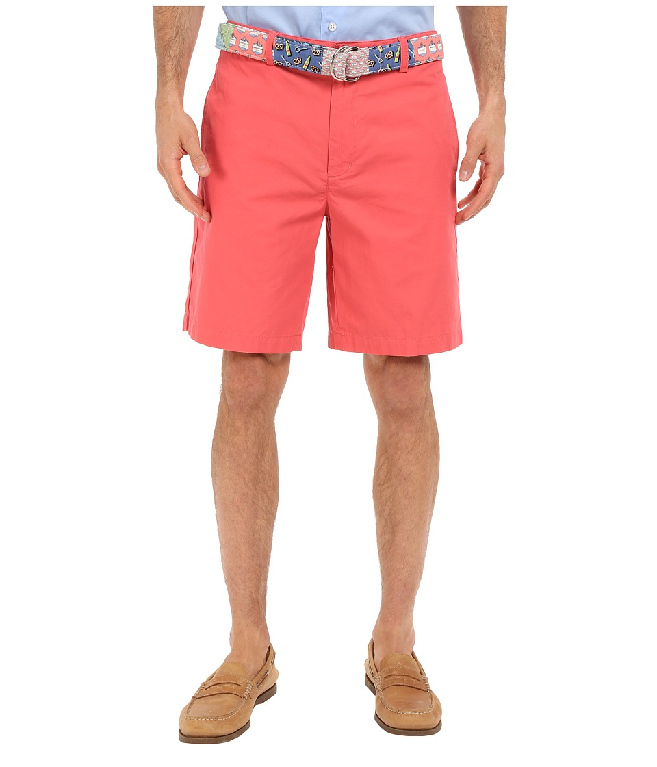 Vineyard Vines - 9 Classic Summer Club Shorts (Jetty Red) Men's Shorts