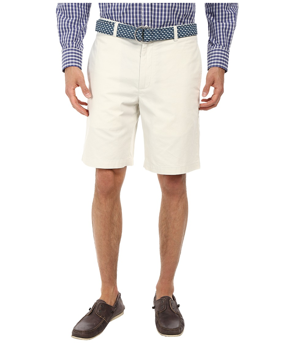 Vineyard Vines - 9 Classic Summer Club Shorts (Stone) Men's Shorts