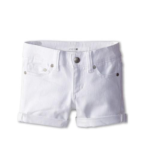 Joe's Jeans Kids - Annie Rolled Short in Optical White (Toddler/Little Kids) (Optical White) Girl's Shorts