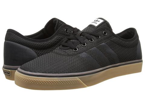 adidas Skateboarding - Adi-Ease Woven (Core Black/Solid Grey/Gum) Men
