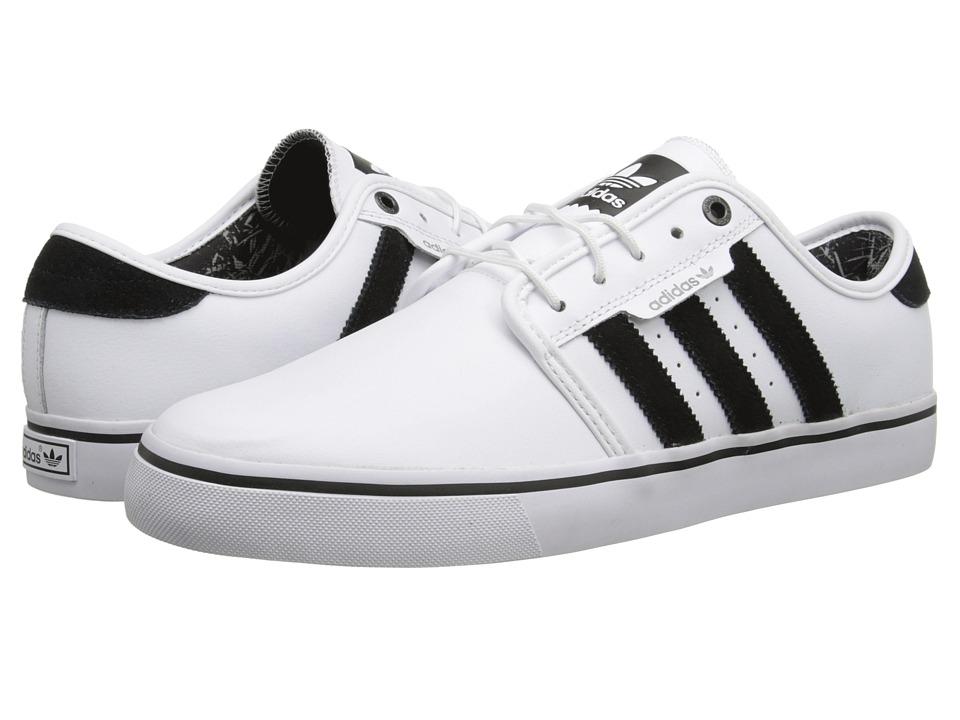 adidas Skateboarding - Seeley Bamboo Print (White/Core Black/Solid Grey) Men