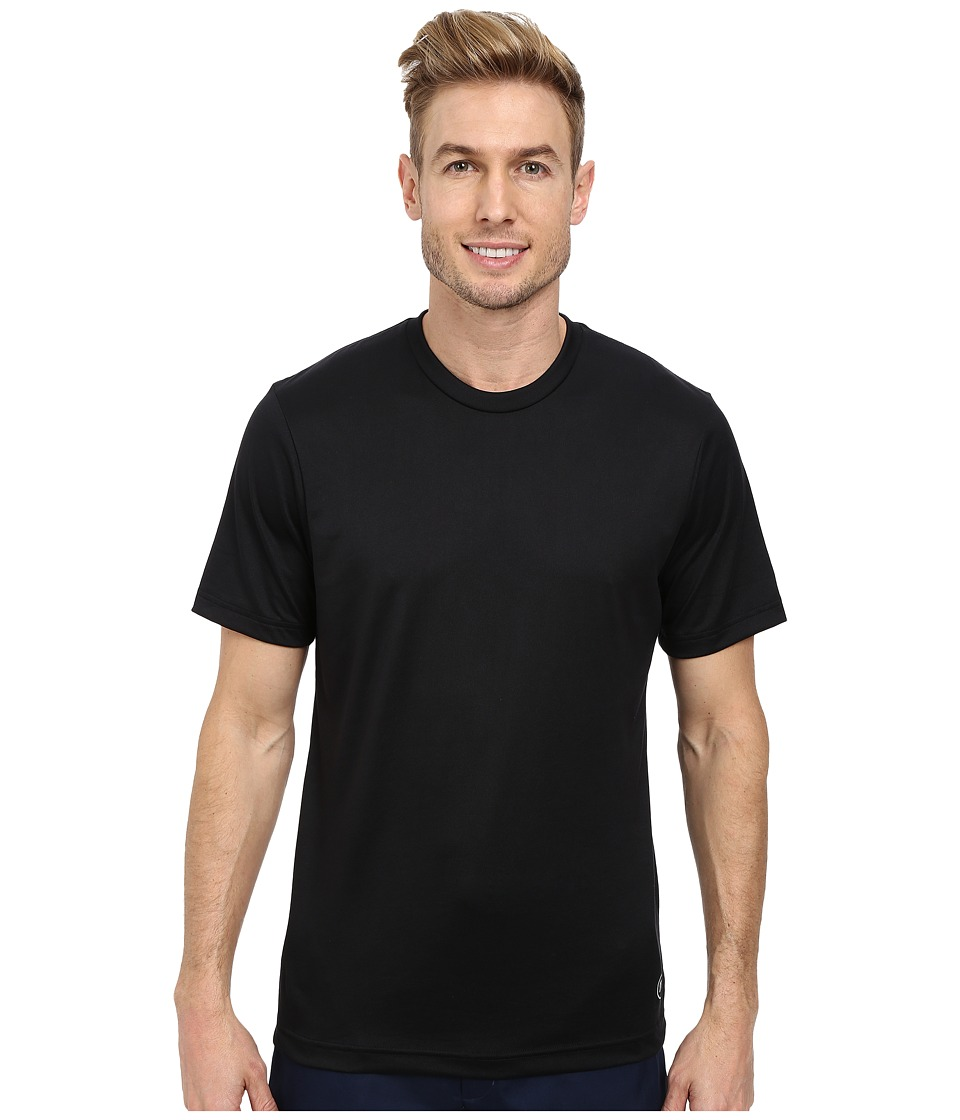 TravisMathew - Cannon Tee (Black) Men's Short Sleeve Knit