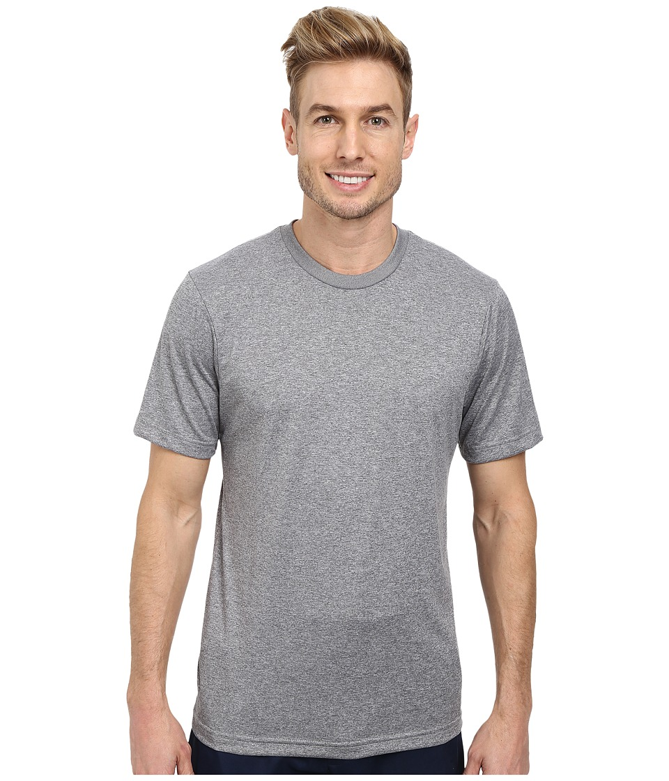 TravisMathew - Cannon Tee (Heather Monument) Men's Short Sleeve Knit