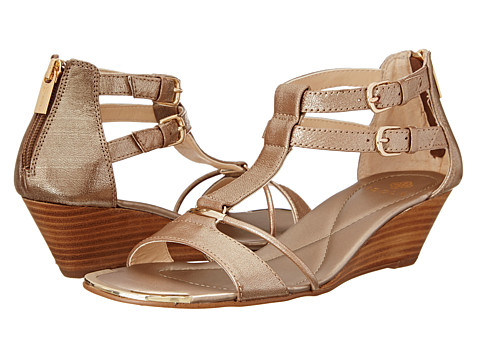 Isola - Phoenix (Satin Gold) Women's Wedge Shoes