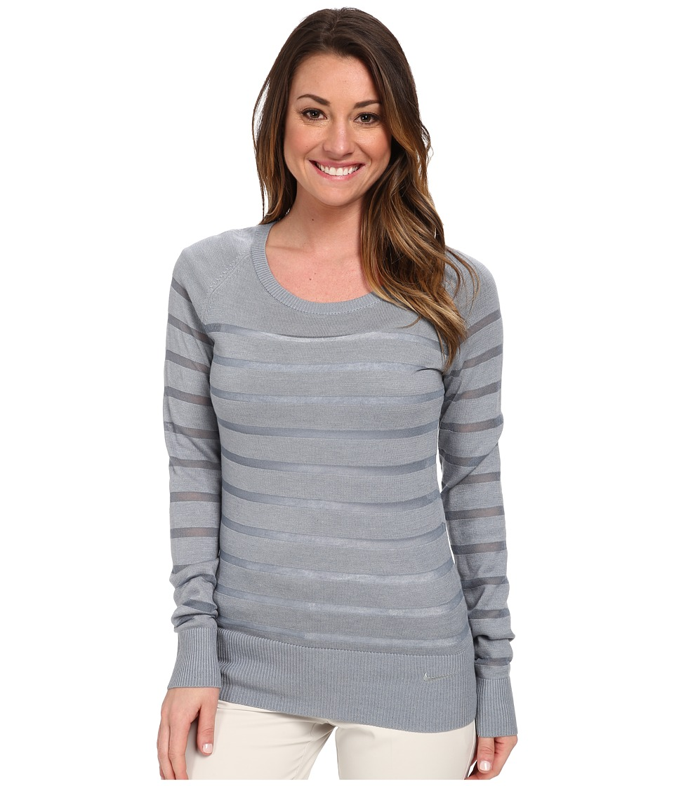 Nike Golf - Crew Sweater (Dove Grey/Dove Grey) Women