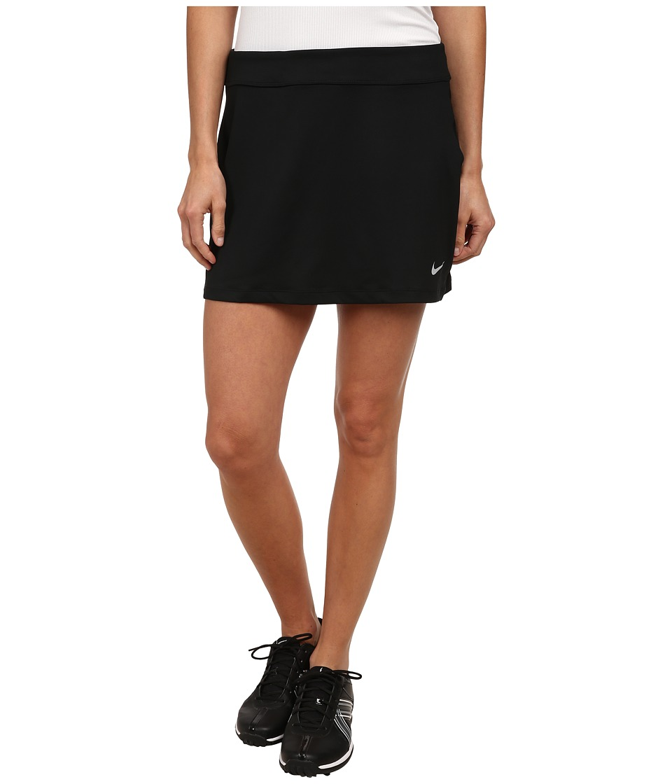 Nike Golf - Nike Short Fairway Drive Skort (Black/Black/Wolf Grey) Women's Skort