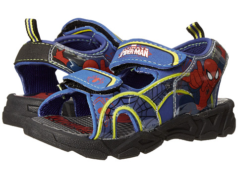 Favorite Characters - Spider-man 1SPS607 Sandal (Toddler/Little Kid) (Blue/Red) Boys Shoes