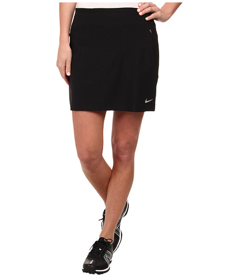Nike Golf - No-Sew Skort (Black/Wolf Grey) Women's Skort