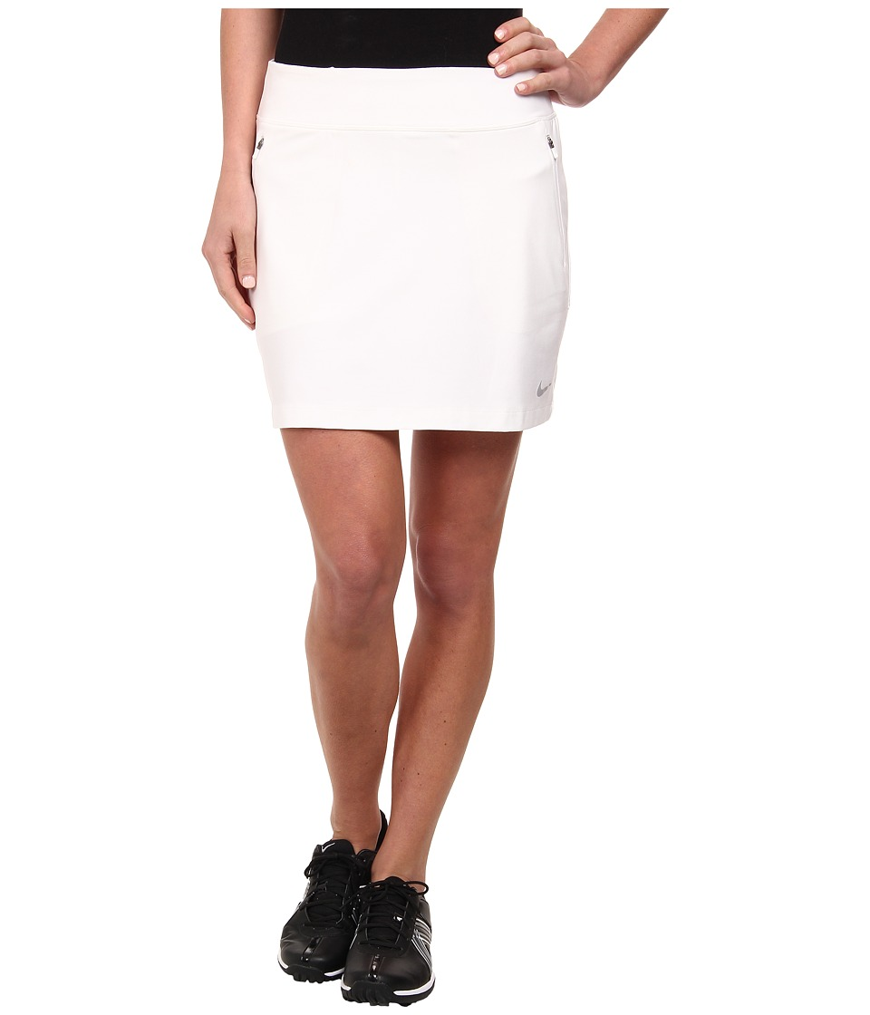 Nike Golf - No-Sew Skort (White/Wolf Grey) Women's Skort