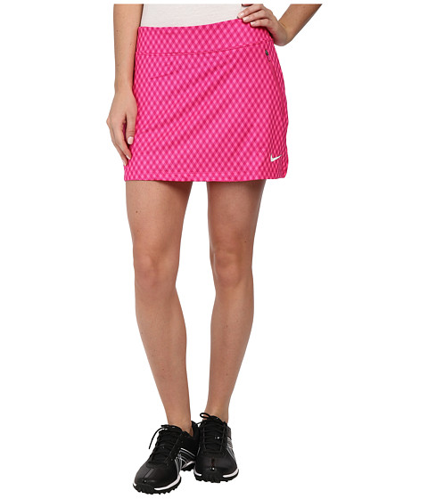 Nike Golf - Nike Gingham Flight Skort (Pink Pow/Hot Pink/Hot Pink/White) Women's Skort