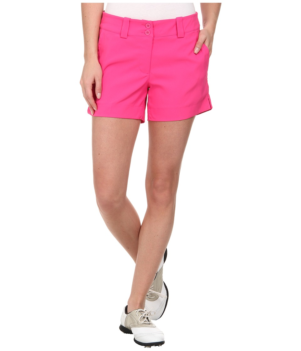 Nike Golf - Modern Rise Sporty Short (Hot Pink/Hot Pink) Women's Shorts