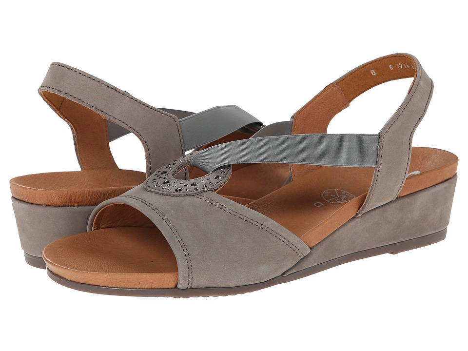 ara - Sutton (Grey Nubuk) Women's Sling Back Shoes