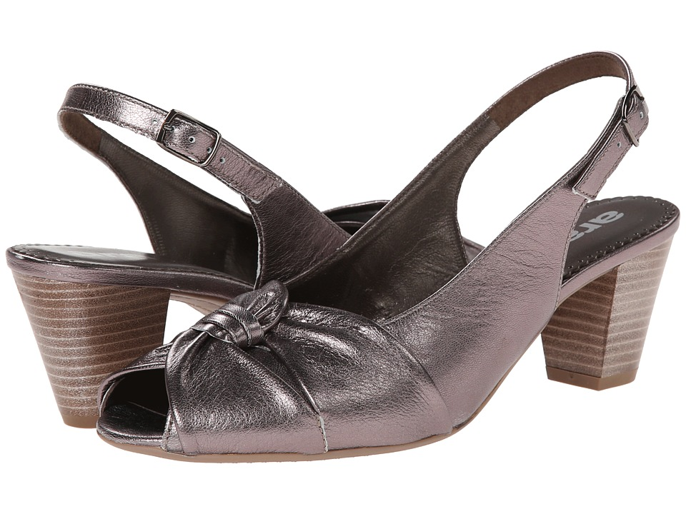 ara - Tilda (Titan Metallic Calf) Women's Sling Back Shoes