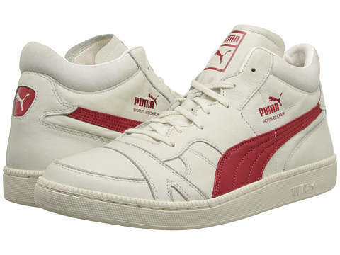 PUMA Sport Fashion - Becker Leather (Whisper White) Men