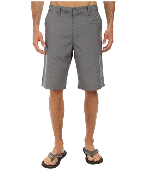 O'Neill - Delta Stripe Walkshort (Grey) Men's Shorts