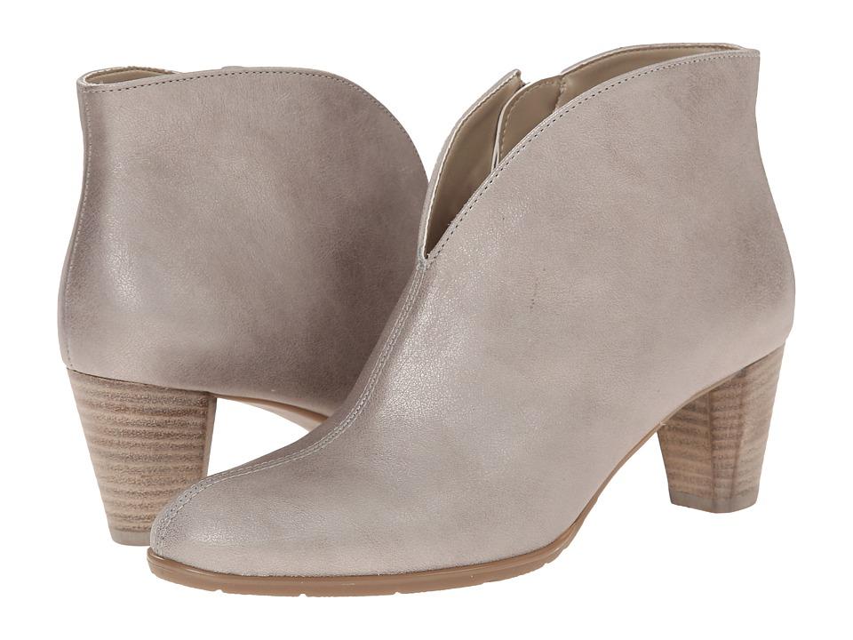 ara - Tricia (Argento Metallic Calf) Women's Dress Pull-on Boots