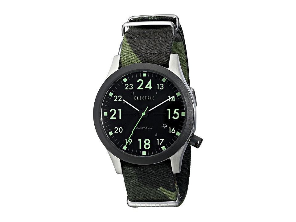 Electric Eyewear - FW01 Nato (Black/Camo) Watches
