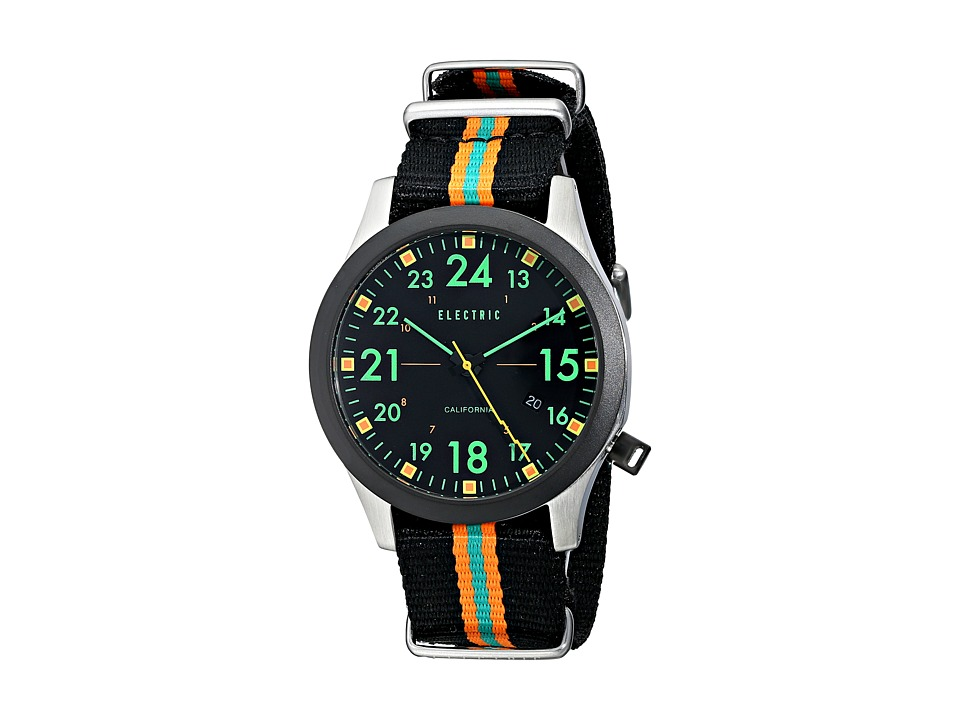 Electric Eyewear - FW01 Nato (Black/Green) Watches