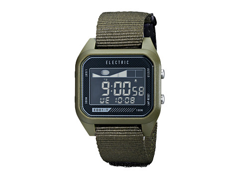 Electric Eyewear - ED01 - T Nato (Olive) Watches