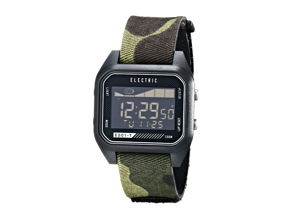 Electric Eyewear - ED01 - T Nato (Black/Camo) Watches