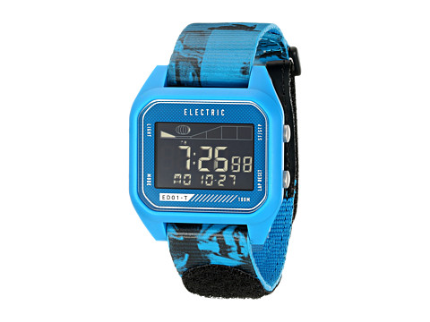 Electric Eyewear - ED01 - T Nato (Twin Fin Blue) Watches