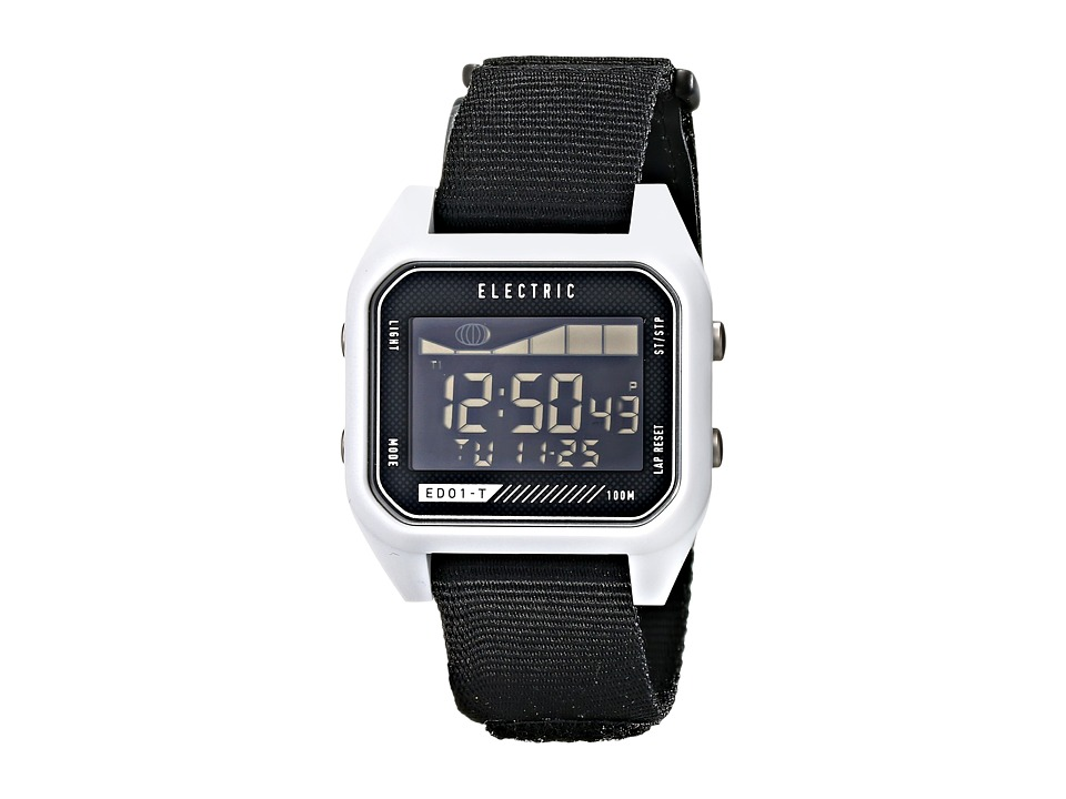 Electric Eyewear - ED01 - T Nato (White/Black) Watches