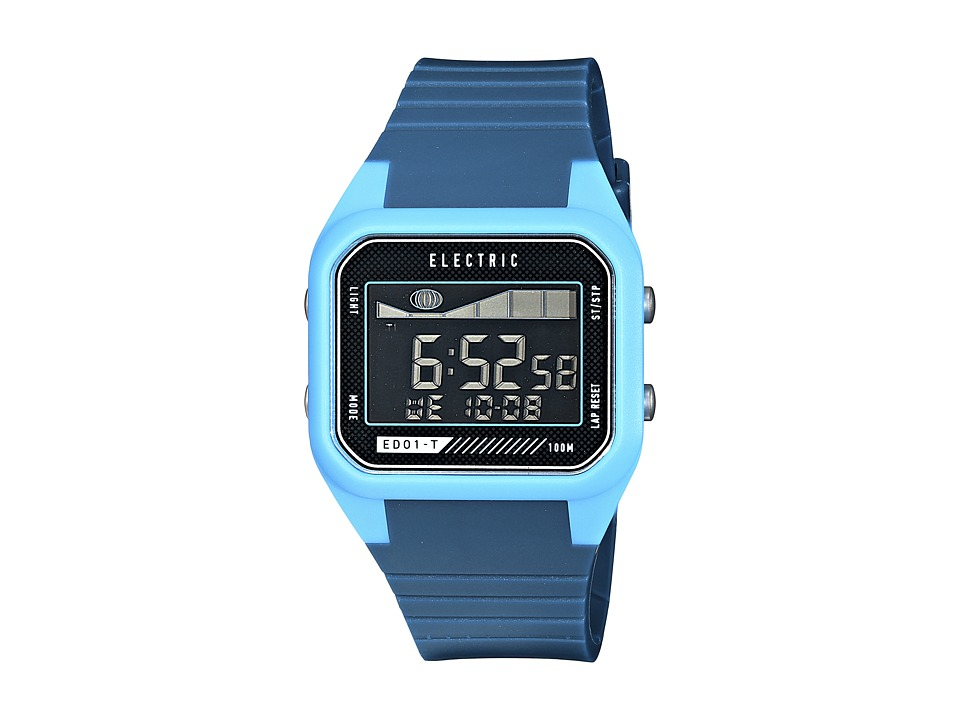 Electric Eyewear - ED01 - T PU (Blue/Bright Blue) Watches