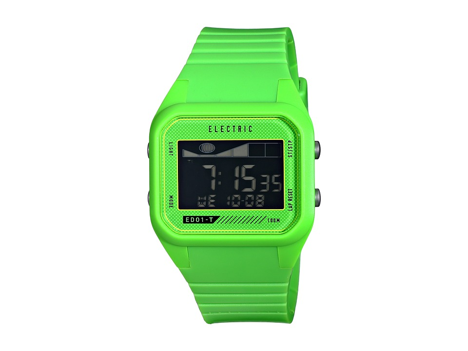 Electric Eyewear - ED01 - T PU (Bright Green) Watches