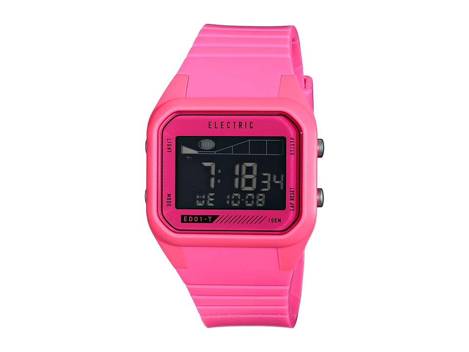 Electric Eyewear - ED01 - T PU (Bright Pink) Watches