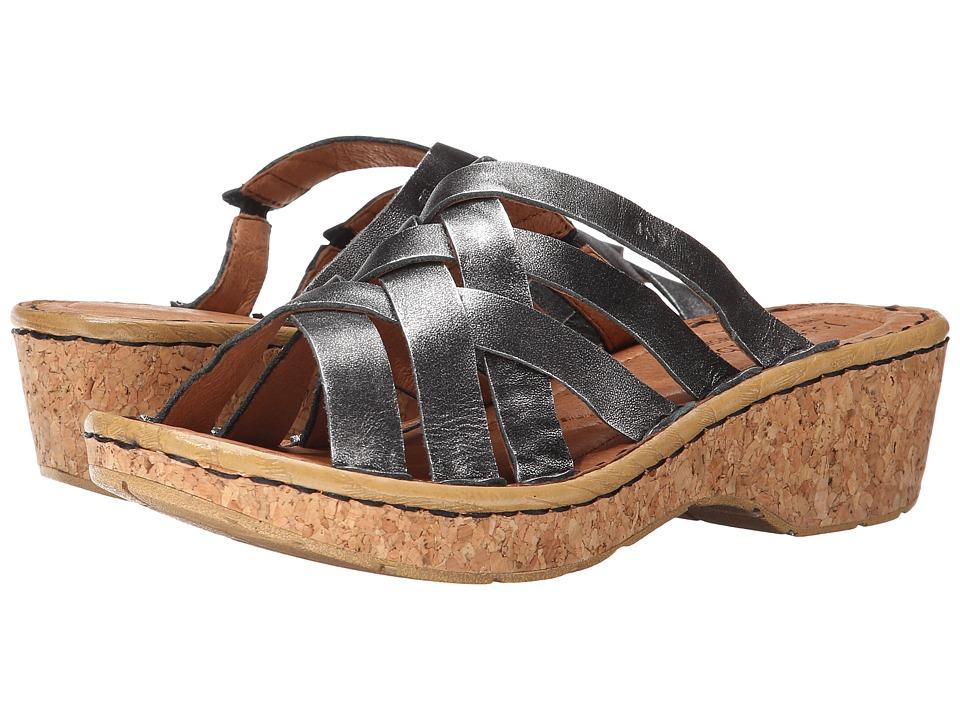 Josef Seibel - Kira 11 (Basalt Antik Metallic) Women's Shoes