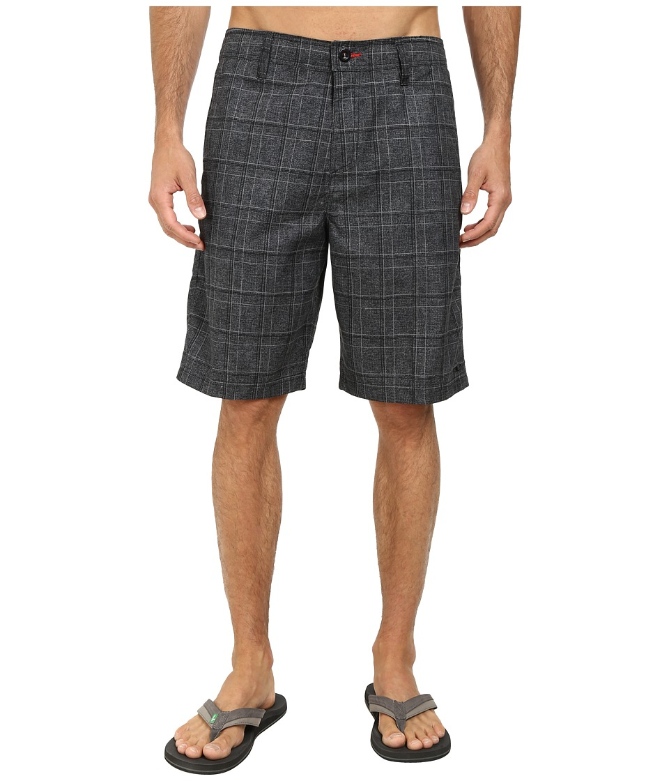 O'Neill - Exec Hybrid Boardshorts (Black) Men's Swimwear
