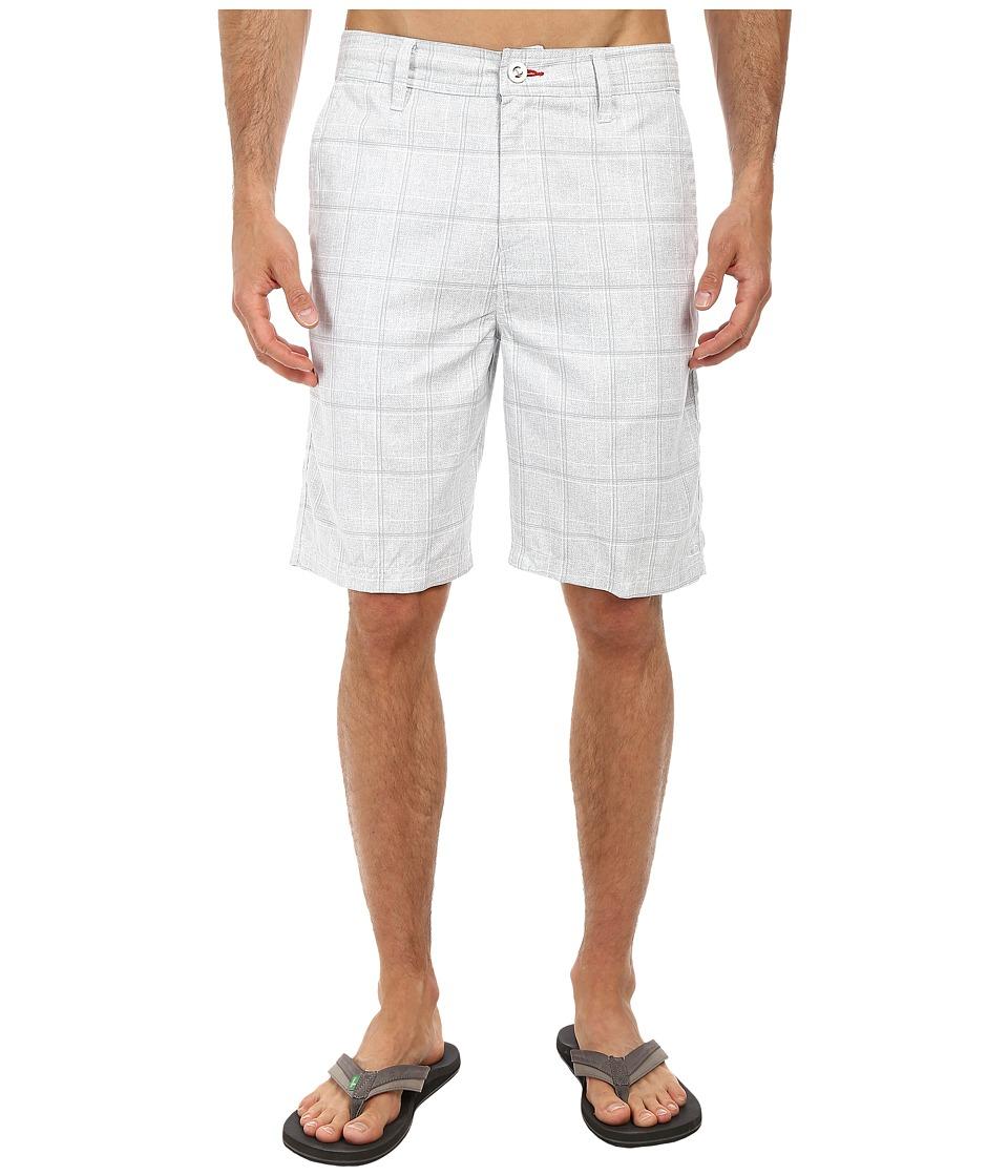 O'Neill - Exec Hybrid Boardshorts (White) Men's Swimwear