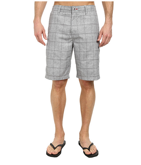 O'Neill - Exec Hybrid Boardshorts (Grey) Men's Swimwear