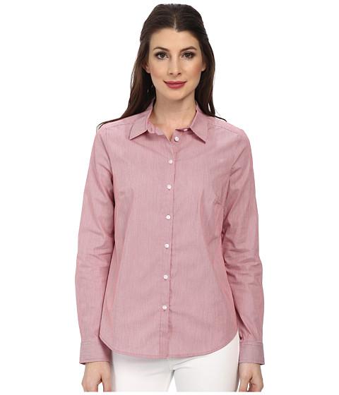NYDJ - Fit Solution Stripe Shirt (Cerise) Women