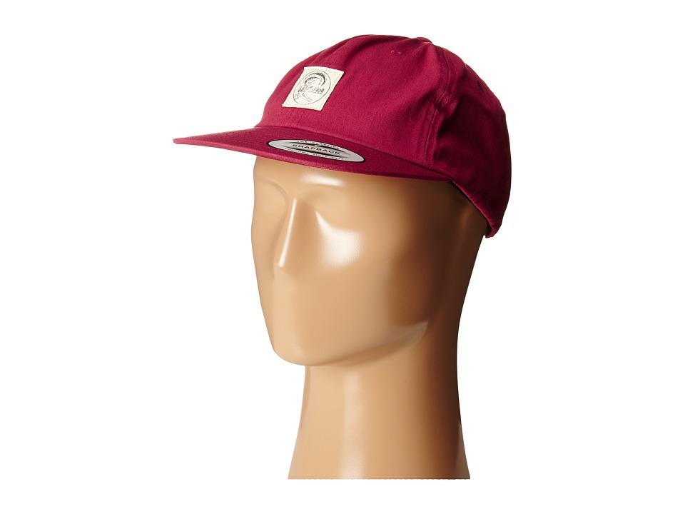 O'Neill - Originals Adjustable Hat (Deep Red) Baseball Caps