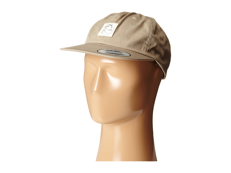 O'Neill - Originals Adjustable Hat (Khaki) Baseball Caps