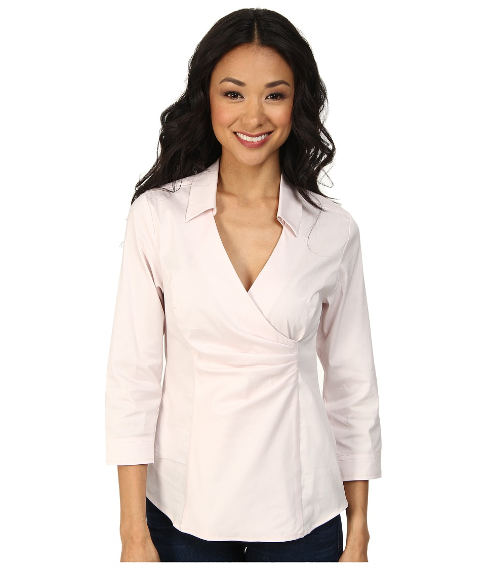 NYDJ - Fit Solution Wrap Blouse (Petal) Women's Blouse