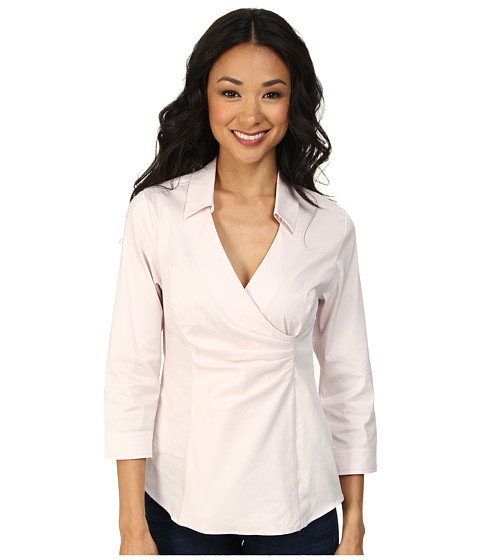 NYDJ - Fit Solution Wrap Blouse (Petal) Women