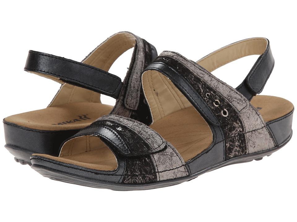 Romika - Fidschi 05 (Black/Kombi Canyon/Kombi) Women's Sandals