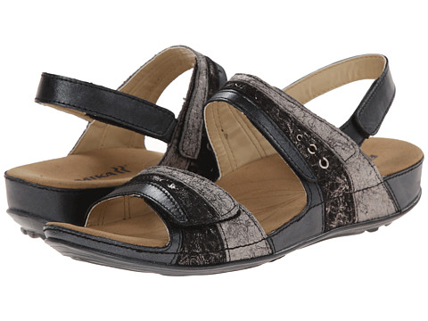 Romika - Fidschi 05 (Black/Kombi Canyon/Kombi) Women's Sandals