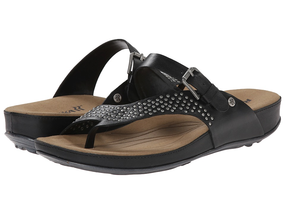 Romika - Fidschi 34 (Black Calf) Women's Sandals